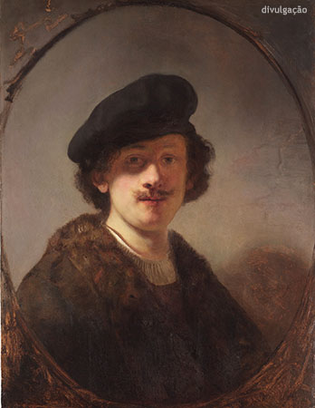 Rembrandt van Rijn (1606-1669), Self-Portrait with Shaded Eyes, 1634, Oil on panel, New York, The Leiden Collection